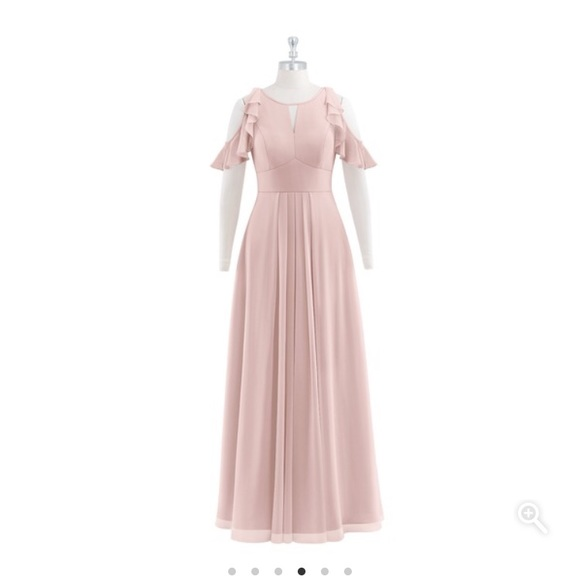 ac9eceb150d16 Azazie Dresses & Skirts - Azazie Logan - Dusty Rose Floor-Length Dress